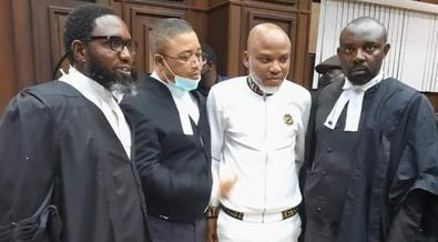 Federal government says some countries have been working with Nnamdi Kanu