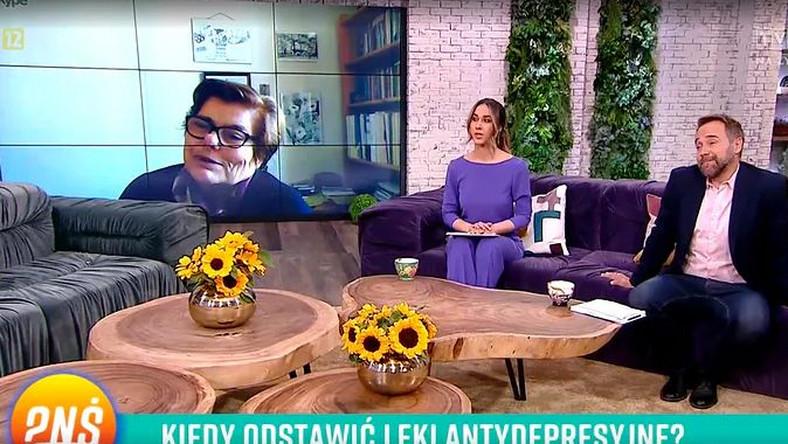 """Łukasz Nowicki i Ida Nowakowska w """"Pytaniu na śniadanie"""""""