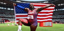 Amerykanka zrobiła to na podium. Może teraz stracić medal!