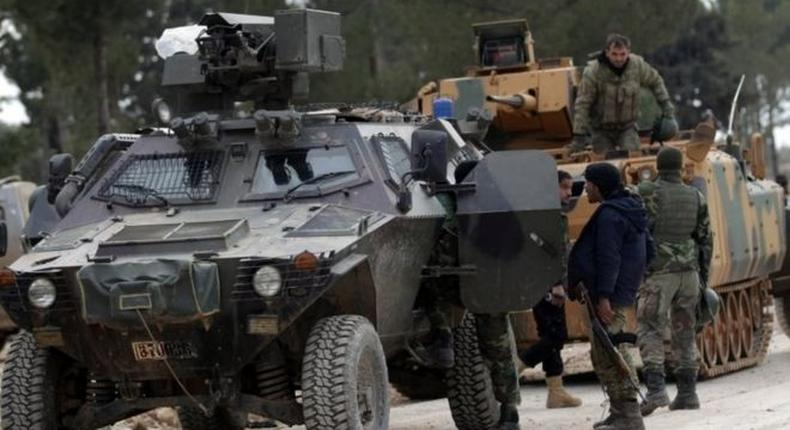 Turkish forces have been working with Syrian rebels to take al-Bab from IS militants