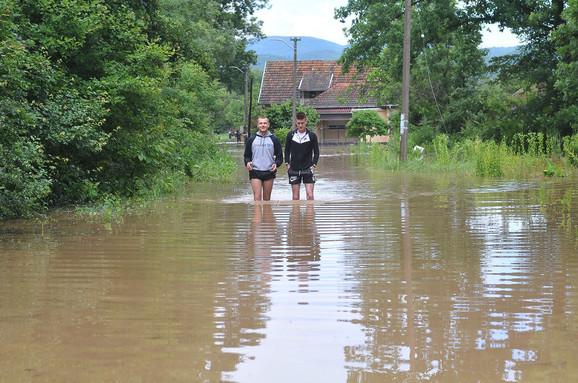 Prošlonedeljne poplave u Kraljevu