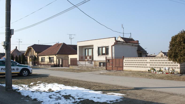Dom, w którym znaleziono ciała Jana Kuciaka i jego narzeczonej