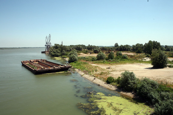 Lokacija na kojoj je trebalo da bude izgrađena rafinerija