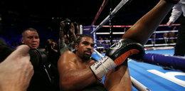 Sensacja! Wielki mistrz znokautowany. Wypadł z ringu!