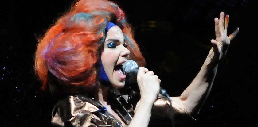 Björk ma polipy. Nie przyjedzie do Polski?