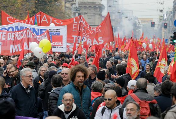 Radničko okupljanje u Milanu