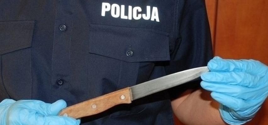 Groza w Kępnie. Napastnik dźgnął nożem 28-latkę. Telefon uratował jej życie