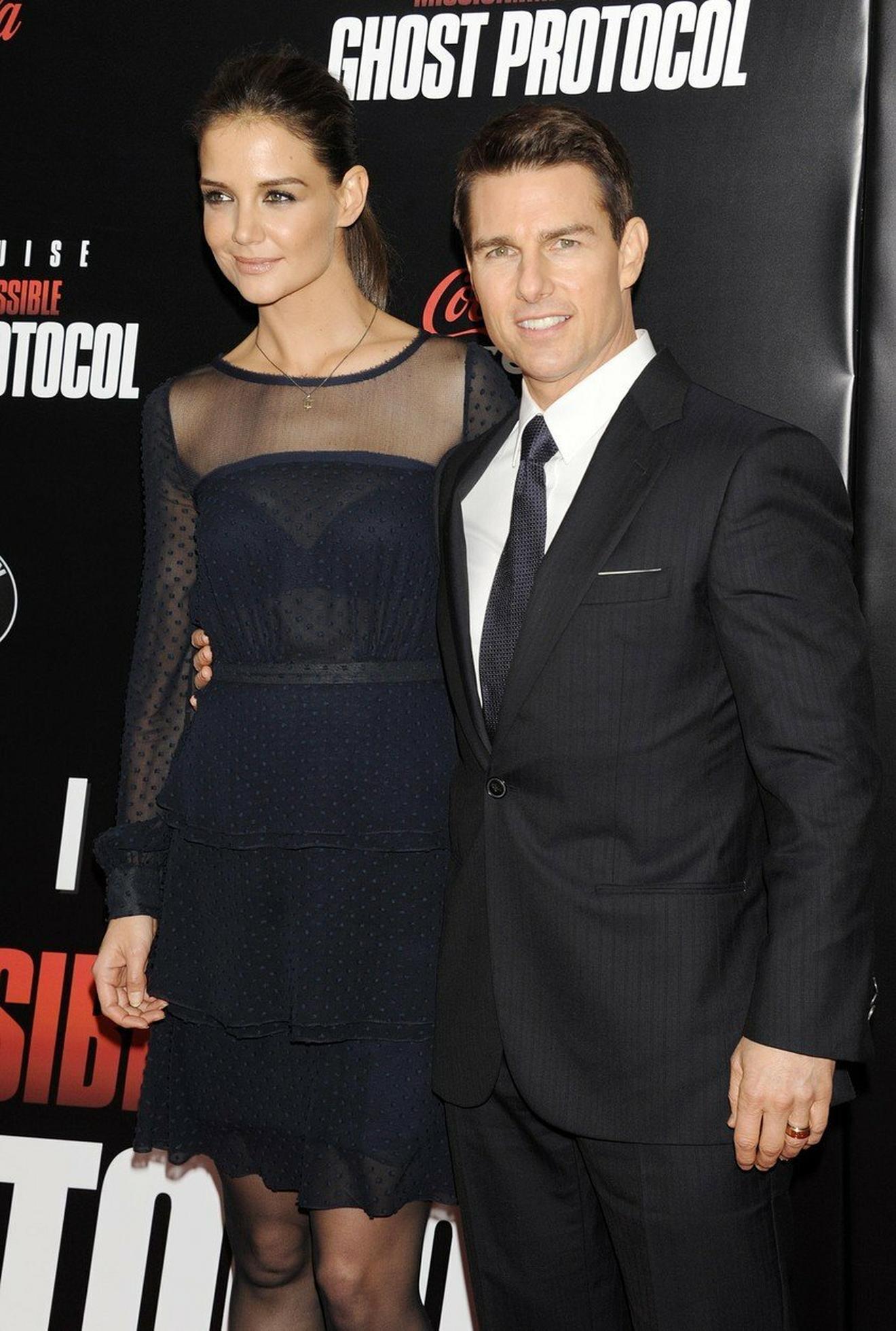 Tom Kruz i Kejti Holms