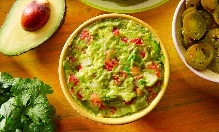 Guacamole. Przepis podstawowy