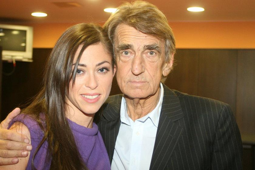 Natalia Kukulska z ojcem