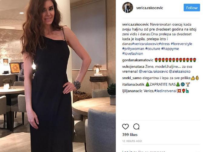 Verica Rakočević objavila sliku NEOBIČNE haljine: Odeća krije VELIKU TAJNU dobrog stila