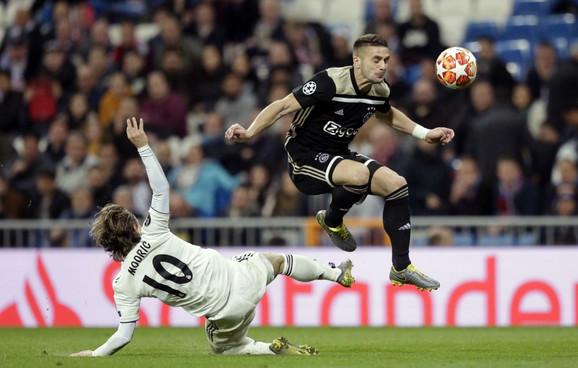 Dušan Tadić je briljirao protiv Real Madrida na
