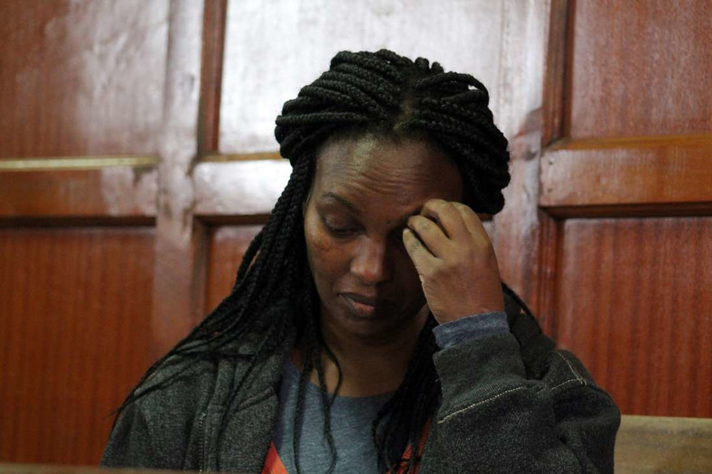Sarah Kamotho during a past court appearance. Body of Dutch billionaire Tob Cohen found in a manhole in Lower Kabete