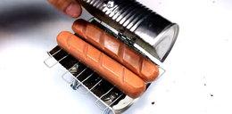 Jak zrobić grilla z puszki