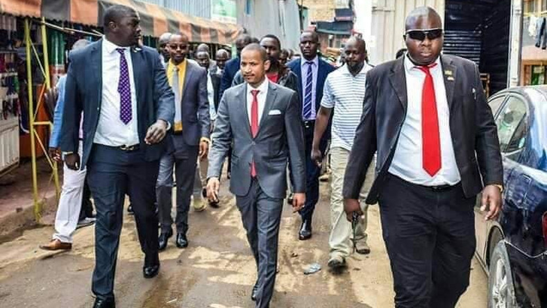 Babu Owino sparks debate with morning attack on Ken Okoth's baby mama Anne Thumbi