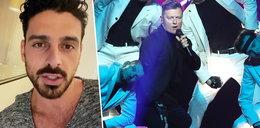 """Gwiazdor """"365 dni"""" namawia fanów do głosowania na Rafała Brzozowskiego! Jak Michele Morrone dowiedział się o jego piosence?"""