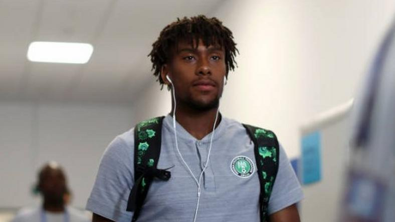 Alex Iwobi has arrived in Asaba to join Super Eagles camp (Getty Images)