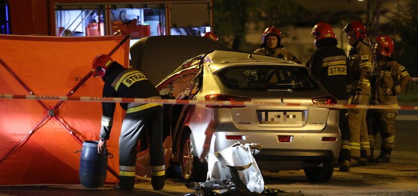 Tragedia w Łodzi. Dwie osoby zginęły w wypadku na al. Włókniarzy