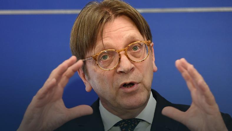 Guy Verhofstadt, negocjator PE ds. Brexitu