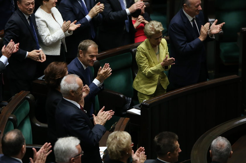 Były już premier Donald Tusk