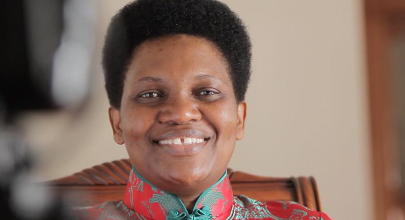 Burundi's first lady Denise Nkurunziza. (celebzmagazine)