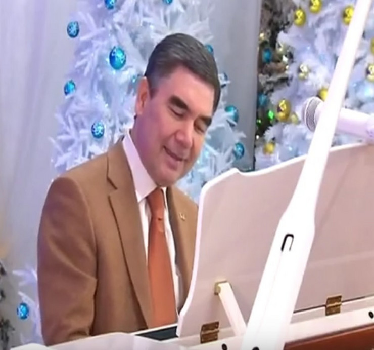 Turkmenistan, predsednik, sc youtube
