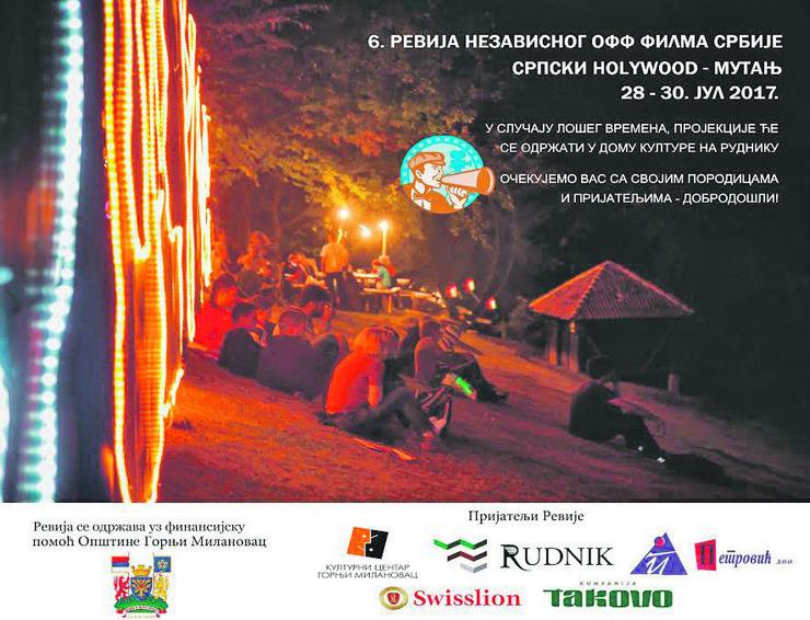 Plakat za Festival off-filma
