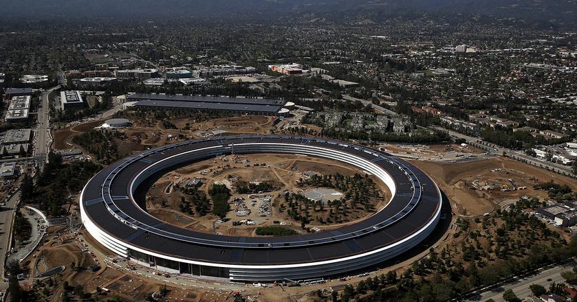 Apple Park pomieści 13 tysięcy pracowników firmy