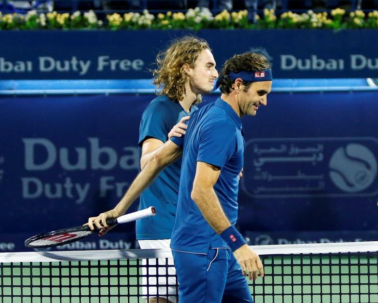 Stefanos Cicipas, Rodžer Federer