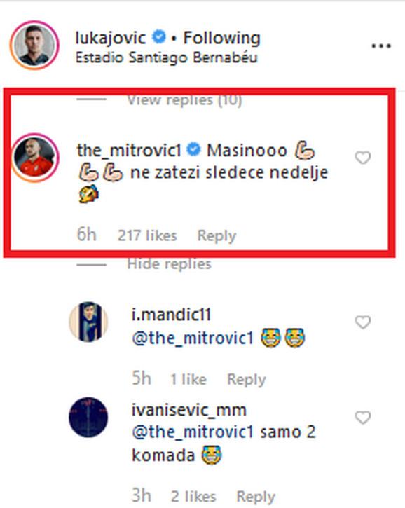 Reakcija Dmitrovića