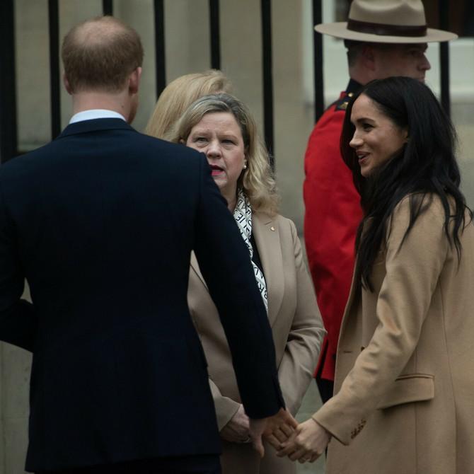 Megan i Hari: ruka u ruci