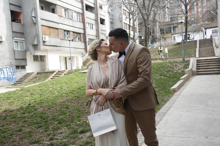 Danijela Karić sa suprugom Ivanom Mileusnićem