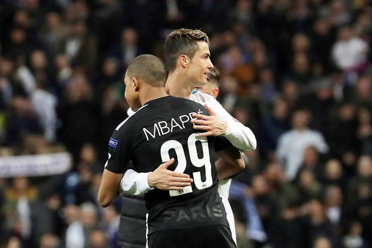Kristijano Ronaldo i Kilijan Mbape