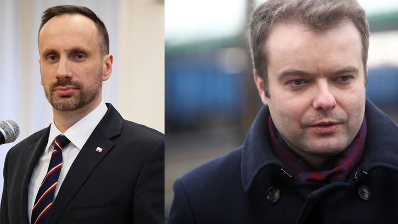 Wiceminister Kowalski i poseł Rafał Bochenek
