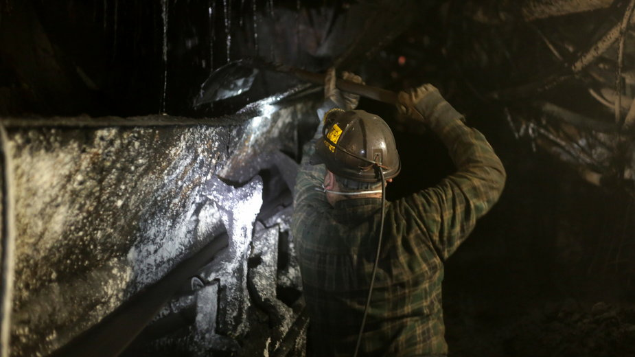 Kopalnia węgla w Katowicach