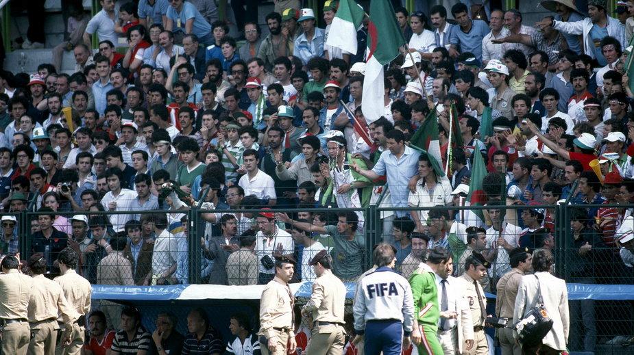 Wściekli kibice reprezentacji Algierii