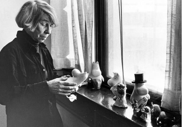 Tove Jansson i Muminki Sztokholm, 1981 rok