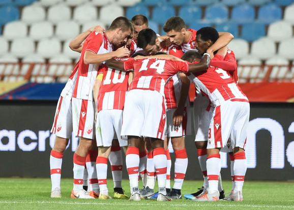 FK Crvena zvezda, Fudbaleri Crvene zvezde protiv Suduve