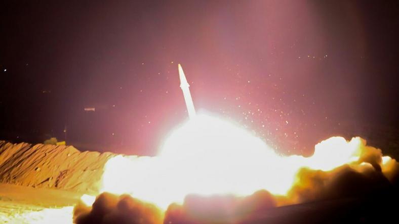 Iran przeprowadził atak rakietowy na bojowników IS we wschodniej Syrii