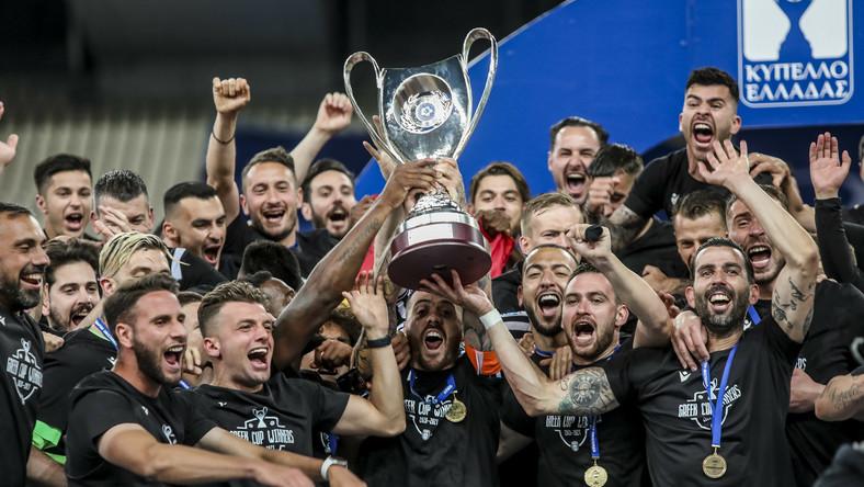 Radość piłkarzy PAOK Salonki