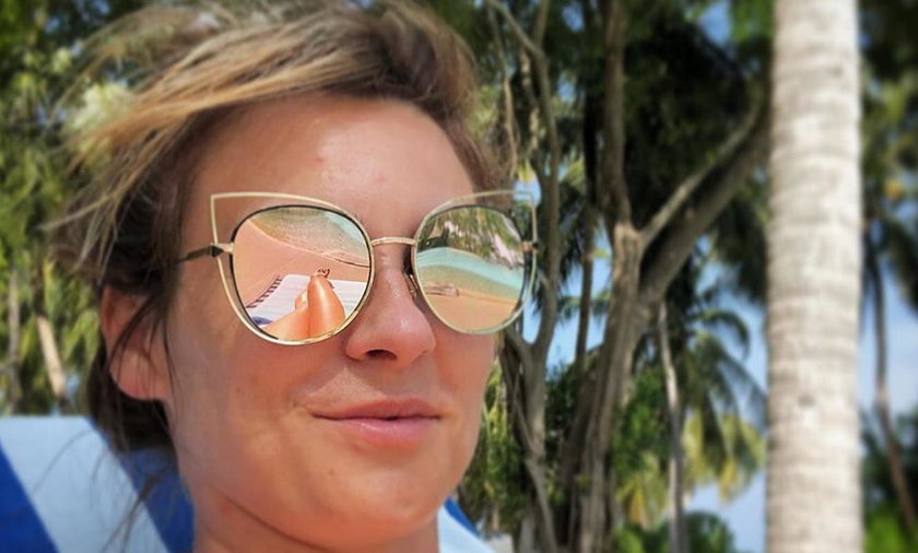 Żona Sławomira kusi na wakacjach