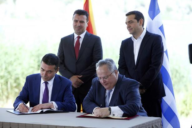 Macedoński parlament rozpoczął procedurę wprowadzenia poprawek do ustawy zasadniczej, w tym zmiany nazwy kraju na Republika Macedonii Północnej