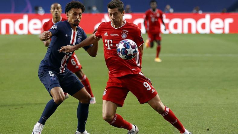 Robert Lewandowski, finał LM Bayern - PSG