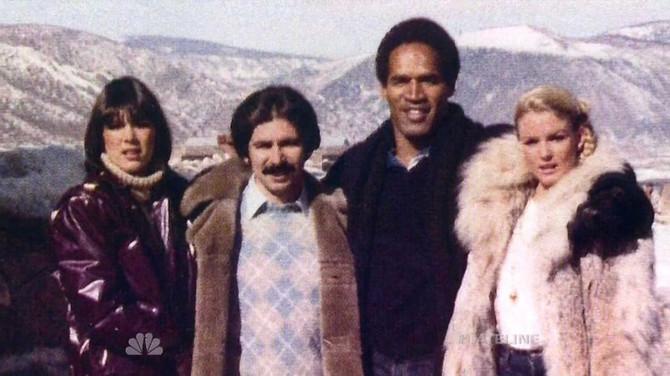 Kris i Robert sa Simpsonom i njegovom bivšom ženom, žrtvom ubistva