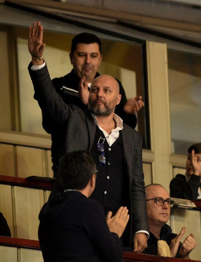 Aleksandar Saša Đorđević na utakmici