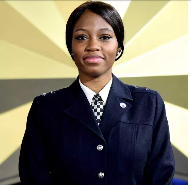 Khafi is a high-flying Metropoitan police officer. [Credit: PA:Press Association]