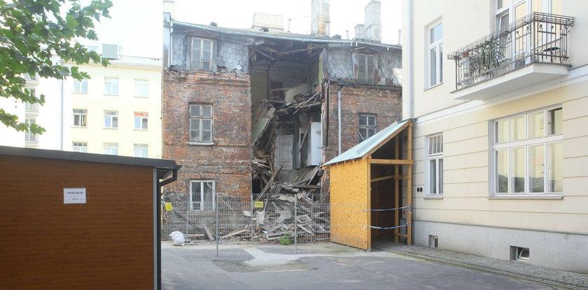 Zawaliła się kamienica w Warszawie
