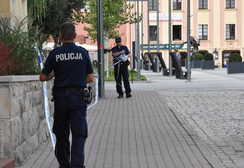 Akcja pirotechników w Lubinie
