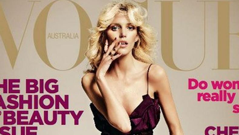 Anja Rubik w obiektywie Tyszki dla Vogue Australia