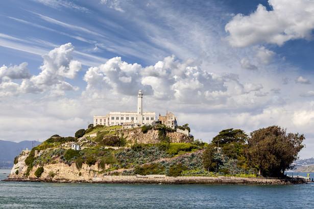 Więzienie-wyspa Alcatraz, San Francisco, Kalifornia, USA
